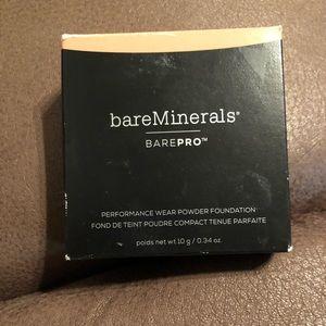 Bare minerals bare pro powder